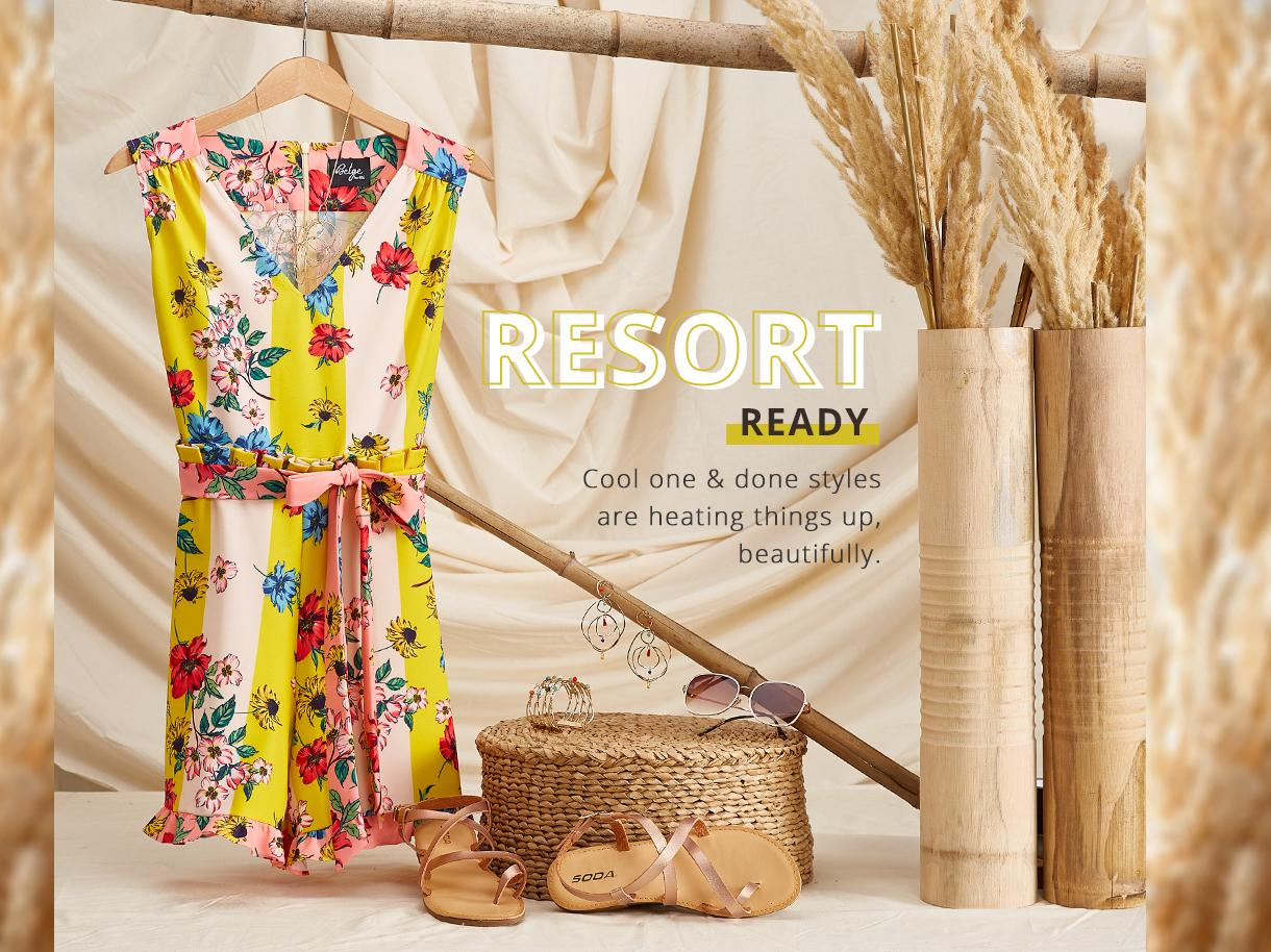 Resort Ready collection