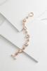 Round Glass Toggle Bracelet