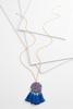 Tasseled Resin Pendant Necklace