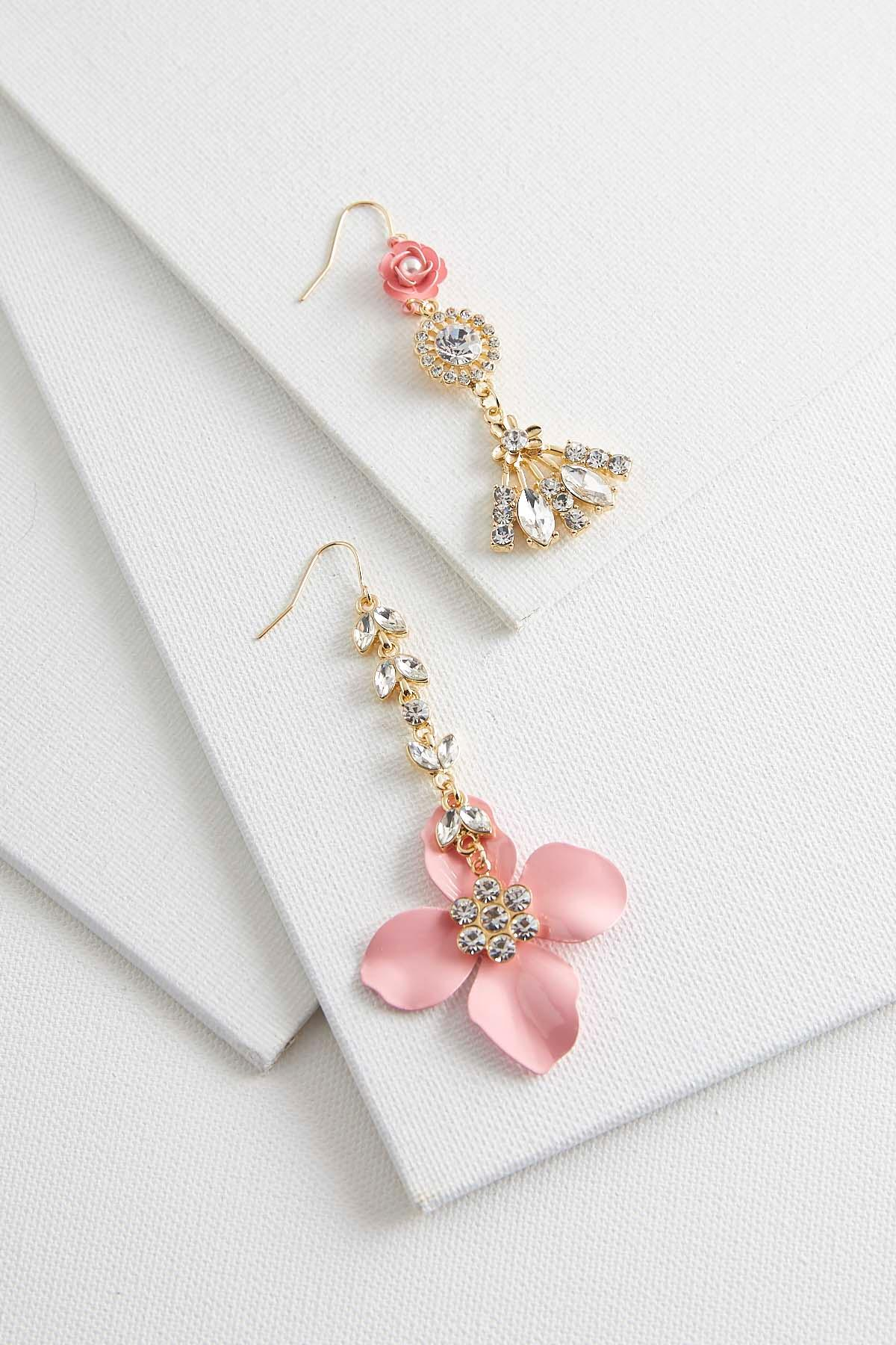 Mix Match Flower Earrings