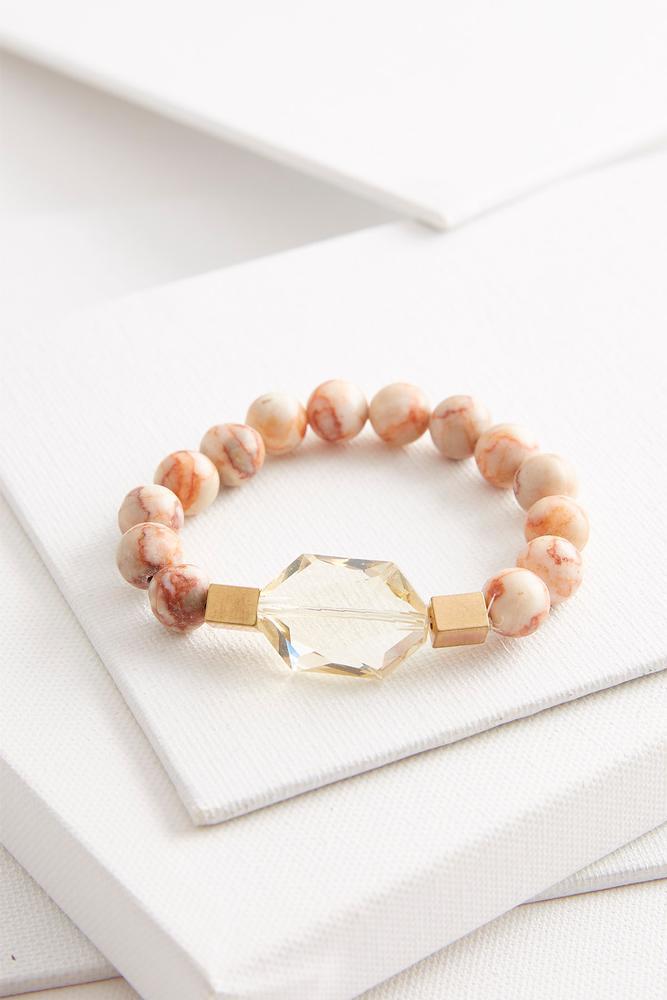 Semi- Precious Stretch Bracelet