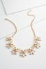 Jeweled Resin Bib Necklace