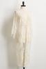 Ivory Lace Duster Kimono