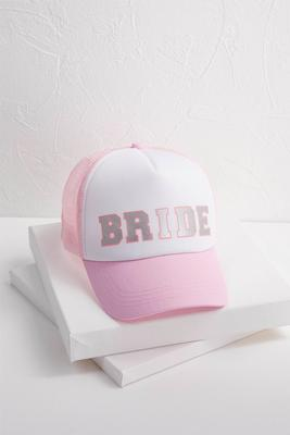 pink bride baseball hat s