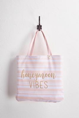 reversible canvas bride tote