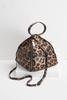 Leopard Fortune Cookie Bag