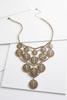 Medallion Bib Necklace