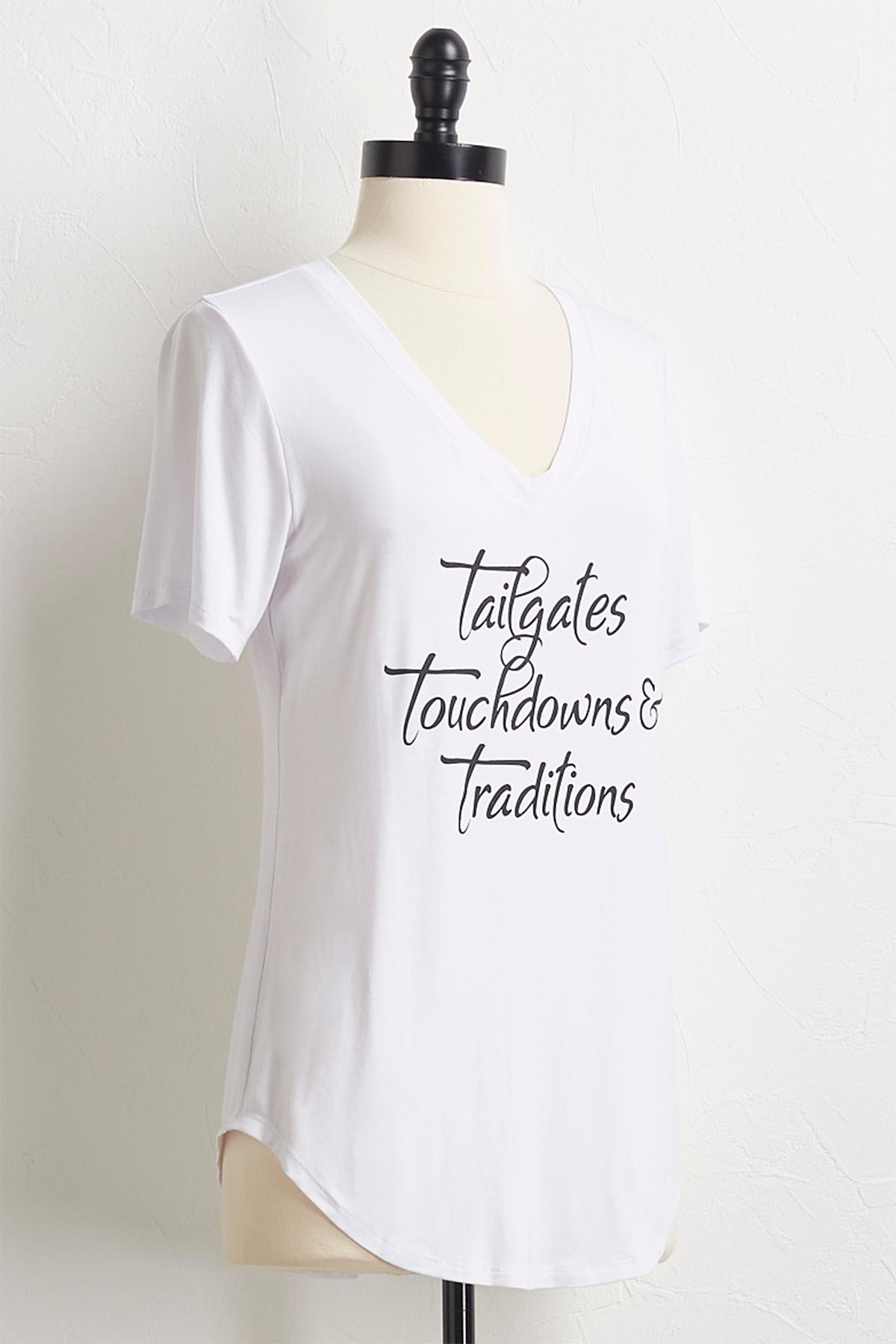 Touchdowns And Traditions Tee