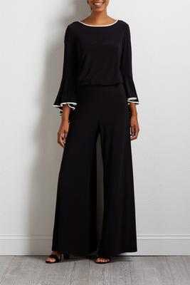 two-toned dressy jumpsuit