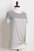 Hacci Knot Front Tee