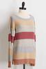 Textured Stripe Sweater
