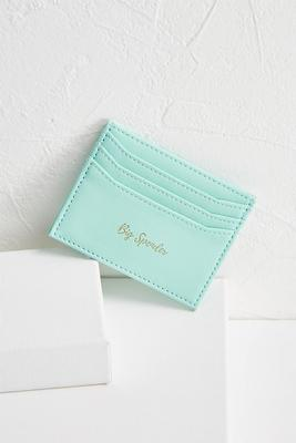 little sayings credit card holder