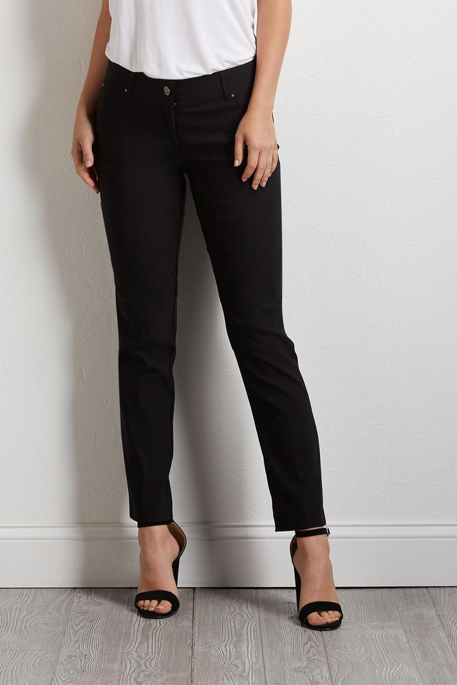 Skinny Fit Ankle Pants