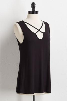 solid criss cross tank