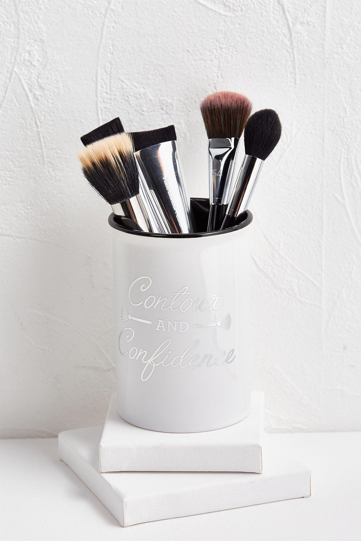 Makeup Brush Canister