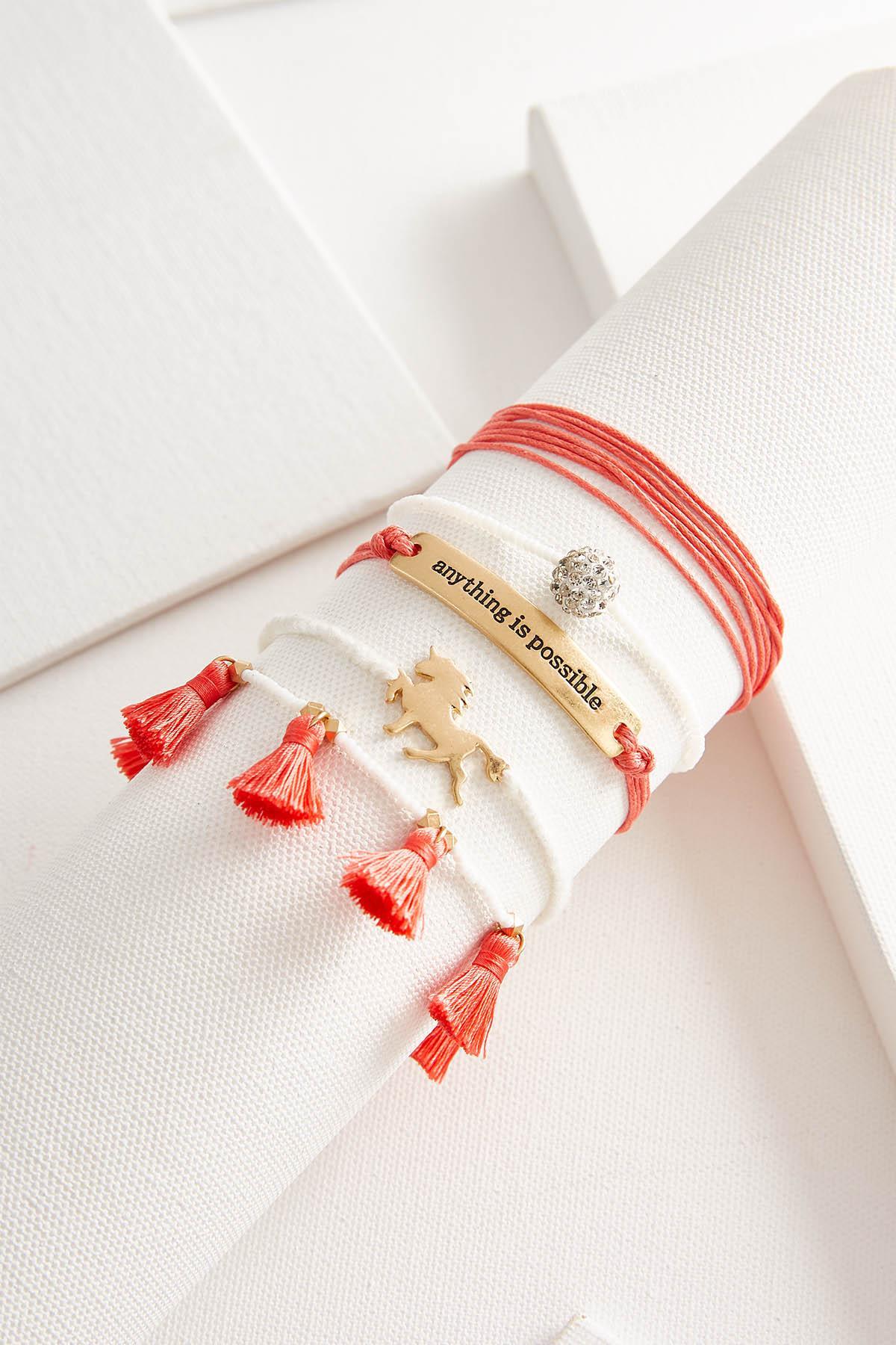 Anything Is Possible Boho Bracelet Set