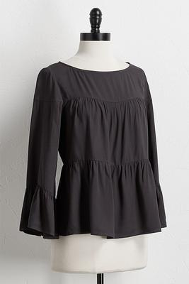 ruffled swing top