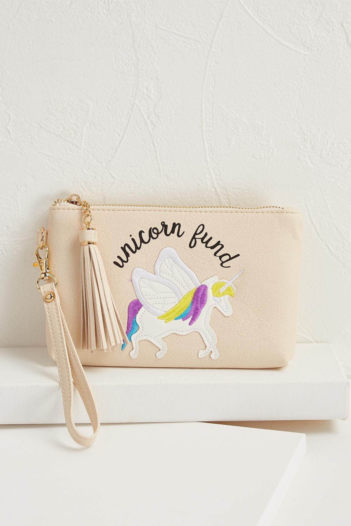 Unicorn Fund Wristlet