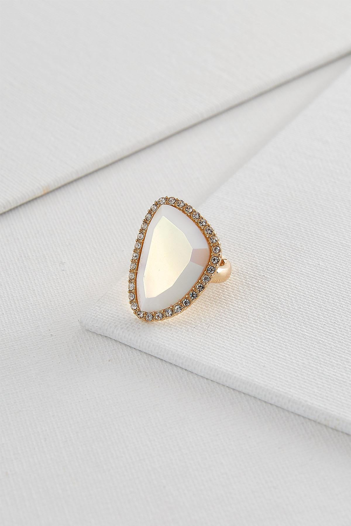 Iridescent Stone Stretch Ring