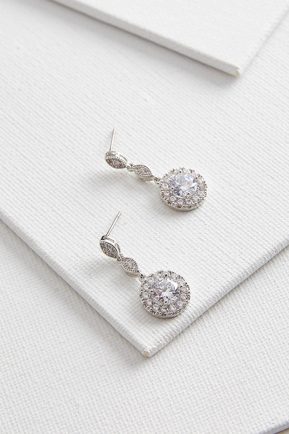 Delicate Rhinestone Earrings