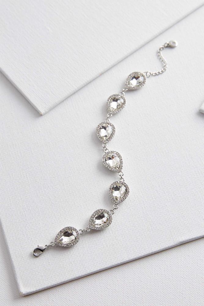 Haloed Rhinestone Bracelet