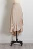 Faux Wrap Ruffle Skirt