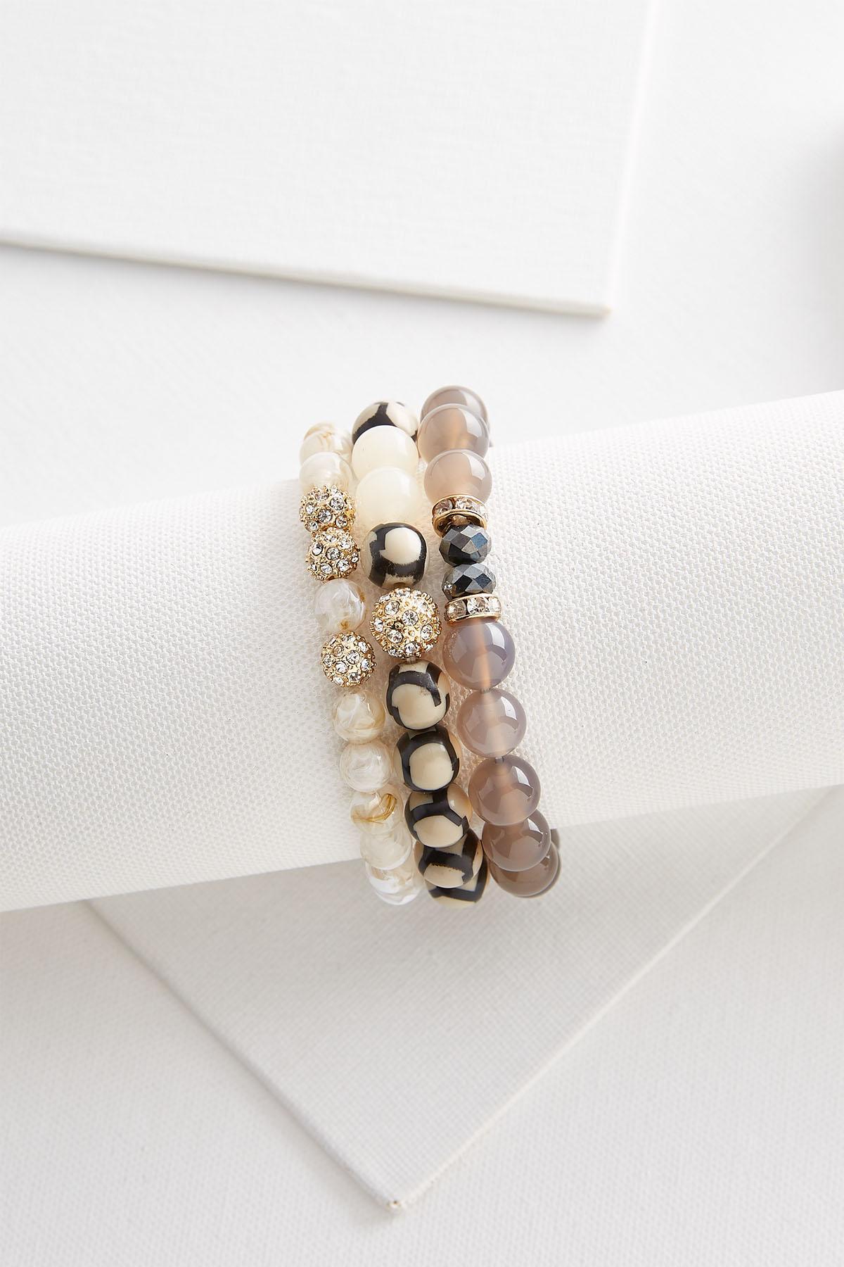 Semi- Precious Bracelet Set