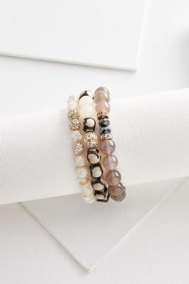 semi-precious bracelet set