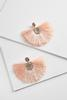 Crystal Fringe Fan Earrings