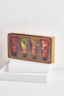 fall harvest hand lotion set