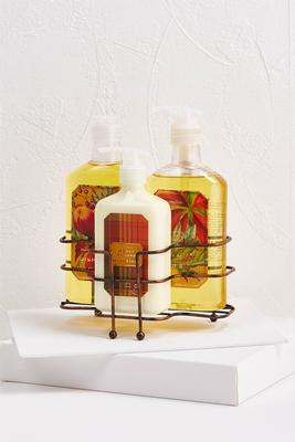 harvest bath and body kitchen caddy