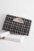 Tweed Porthole Clutch