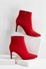 Red Heeled Booties