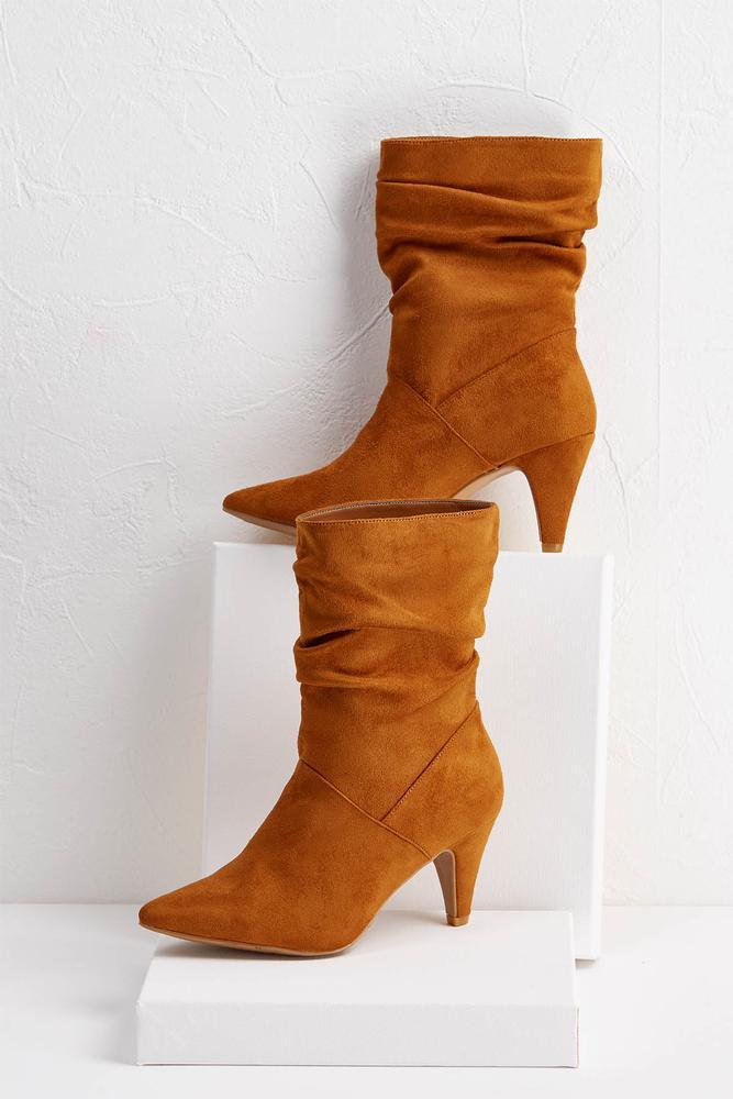 Scrunch Midi Boots