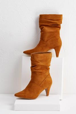 scrunch midi boot