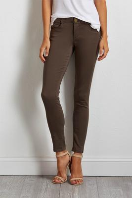 shale shape enhancing twill jeggings