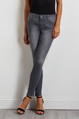 gray shape enhancing jeans