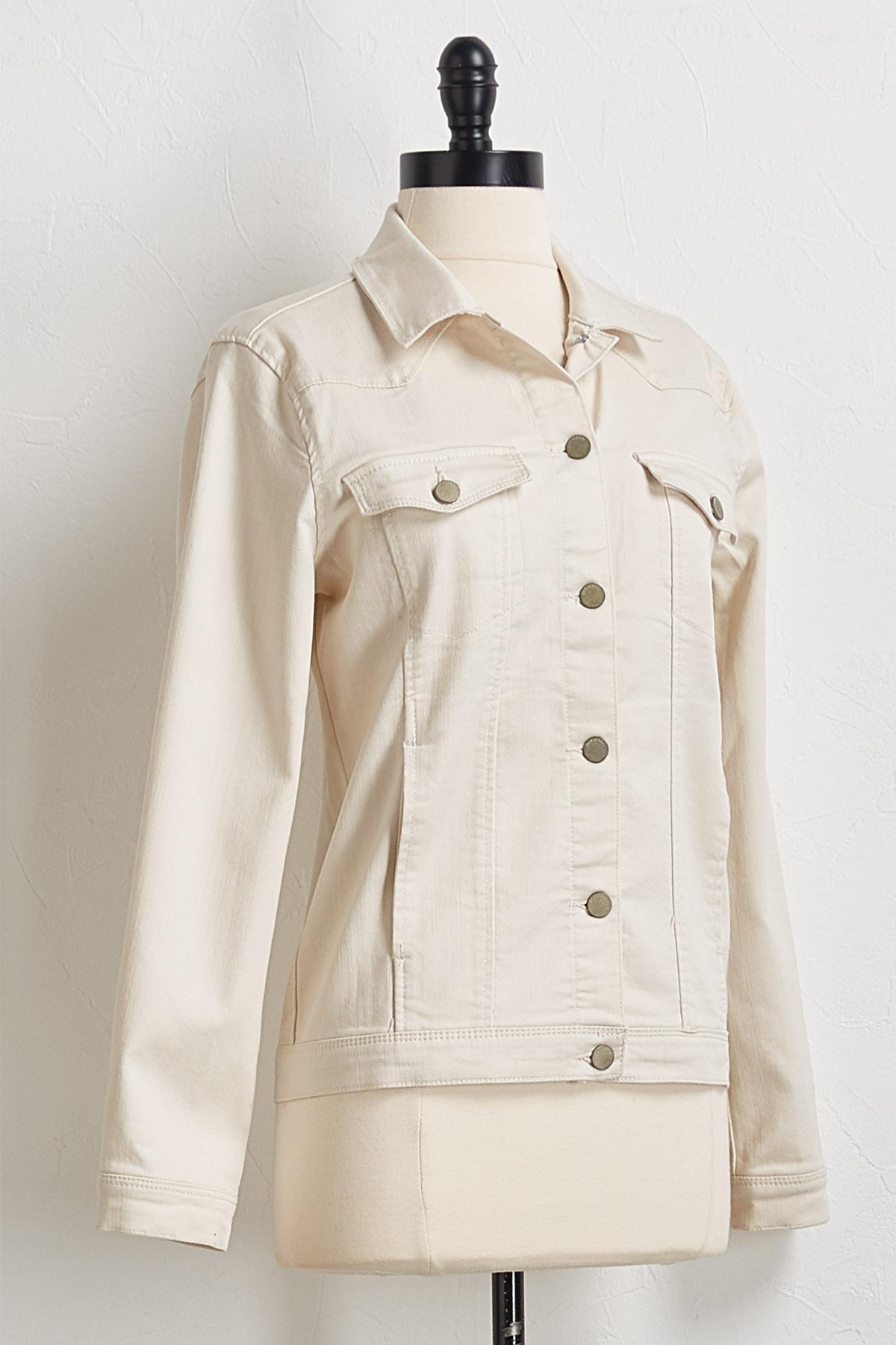 Almond Denim Jacket