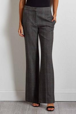dark plaid pants