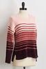 Ombre Stripe Chenille Sweater