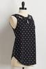 Knotted Polka Dotted Tank