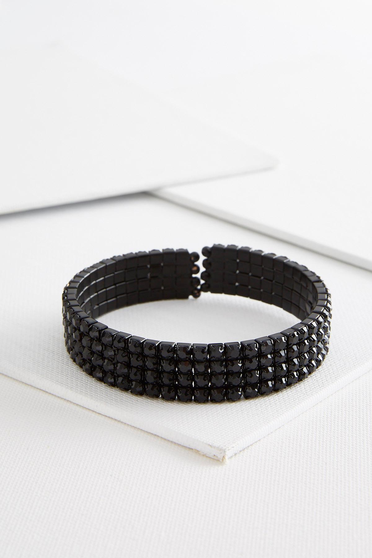 Crystal Flex Cuff Bracelet