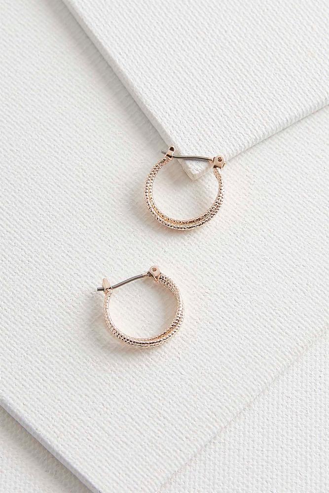 Dainty Double Hoop Earrings