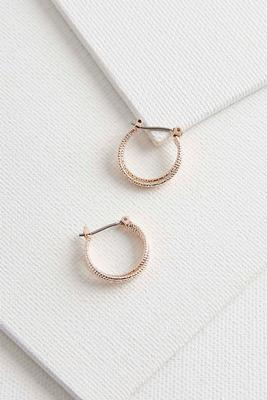 dainty double hoop earrings