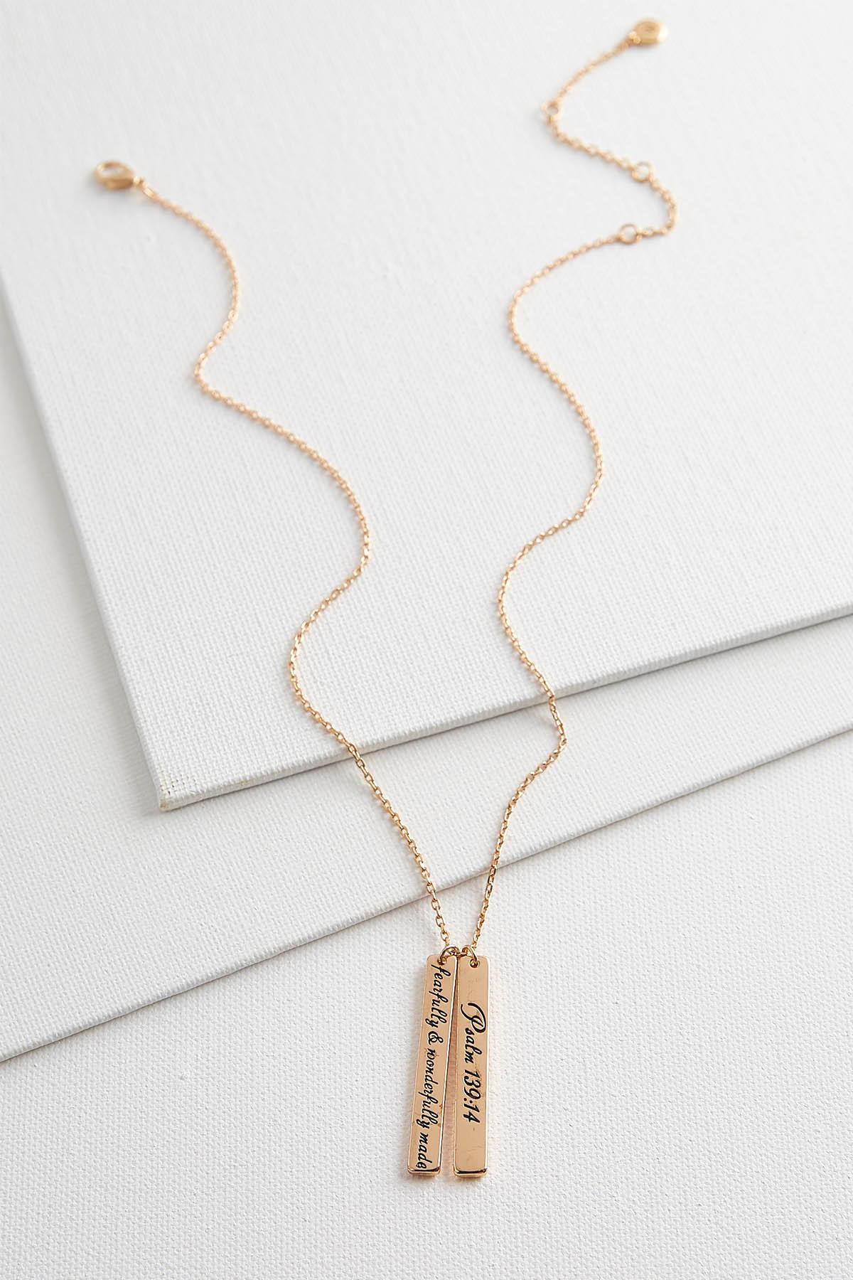 Fearfully Made Double Bar Necklace