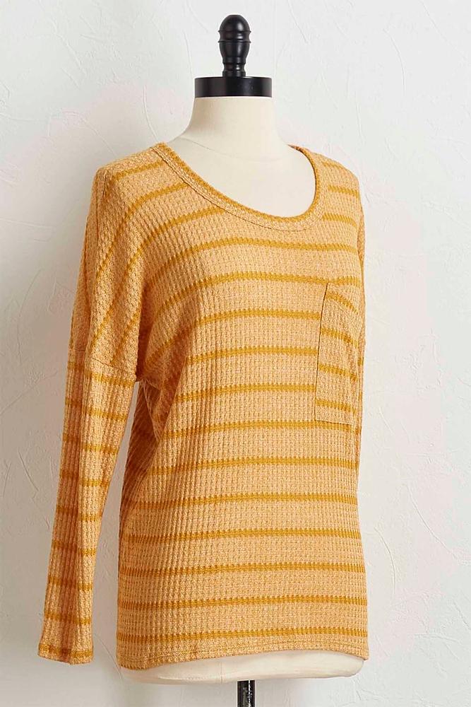 Thermal Stripe Sweater