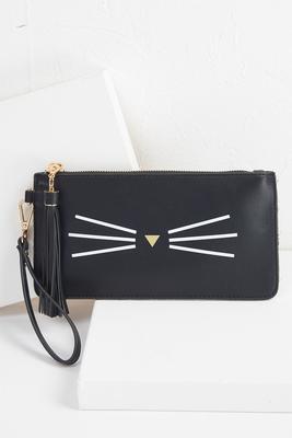 cat whisker wristlet