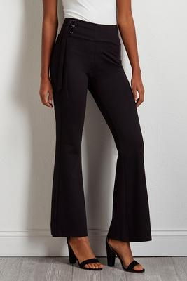 side tie trouser pants