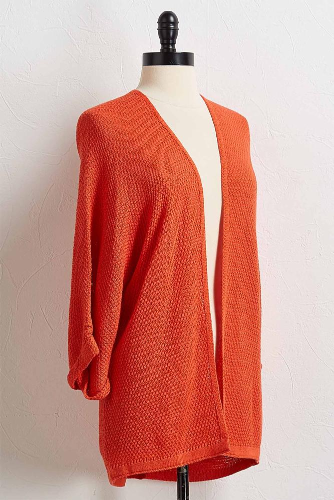 Neon Cardigan Sweater