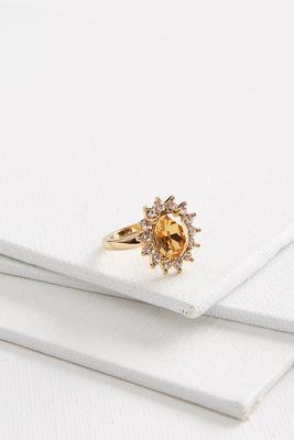 starburst pave ring